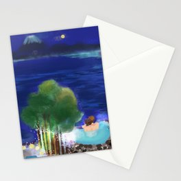 Mid-Autumn Onsen at Fuji Stationery Cards
