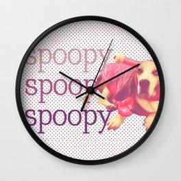 Spoopy Dog Lobster Wall Clock