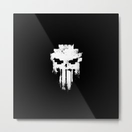 Space Punisher Metal Print