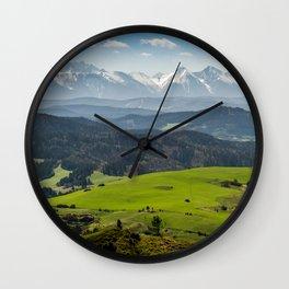 Tatry Poland Landscape Wall Clock