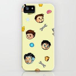 Tiny Tony iPhone Case