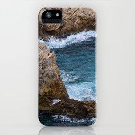 Rocks in the Sea iPhone Case