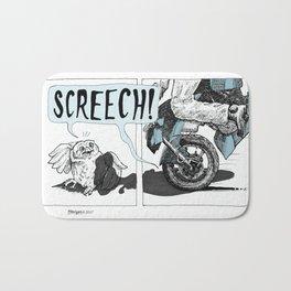 Screech! Bath Mat