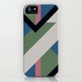 Modernist Dazzle Ship Camouflage Design iPhone Case