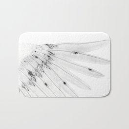 Angel Wing or Living Creature Wing Bath Mat