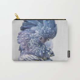 Black Cockatoo Carry-All Pouch