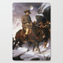 Napoleon Crossing the Alps by Paul Delaroche, 1850 Cutting Board
