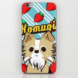 Komugichan iPhone Skin