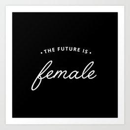 A Female Future Art Print
