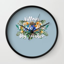 Thy Mother Wall Clock