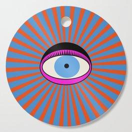 Radiant Eye Cutting Board