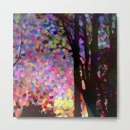 Jellybean Skies Metal Print