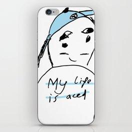 ACE life iPhone Skin