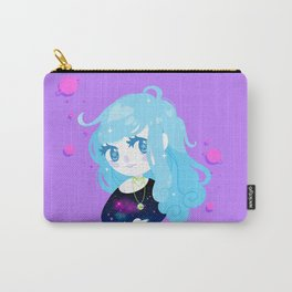 Space Cutie (blue) Carry-All Pouch
