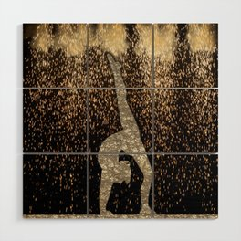 Sparkle Gymnast Wood Wall Art