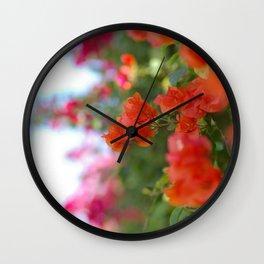 Jamaican Bogenvia, II Wall Clock