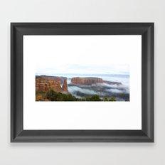 Cloud Flow Framed Art Print