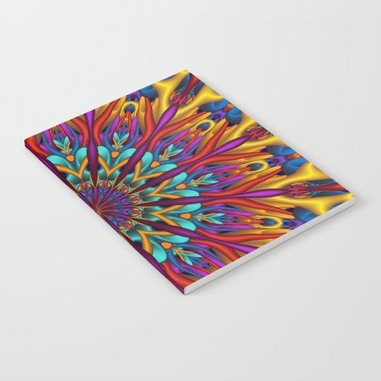 Amazing colors 3D mandala Notebook
