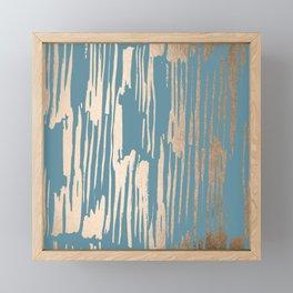 Bamboo Bronze Gold 2 Framed Mini Art Print