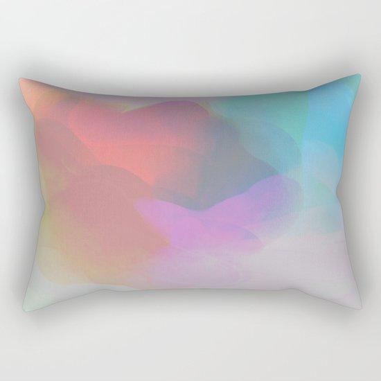 watercolor paint Rectangular Pillow