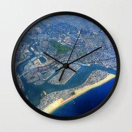 Newport Beach California Wall Clock