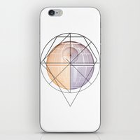 death star iPhone & iPod Skins featuring DEATH STAR by Alberto Lorenzo