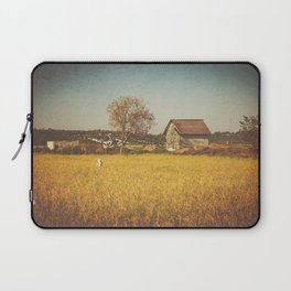 A Place to Rest after Harvest Laptop Sleeve