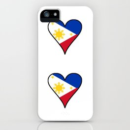 Flag of Philippines 3 -Pilipinas,Filipinas,filipino,pinoy,pinay,Manila,Quezon iPhone Case
