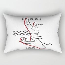 Meanwhile Rectangular Pillow