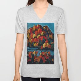 Autumn Foliage / Dennis Weber of ShreddyStudio Unisex V-Neck