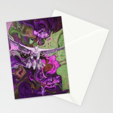 Freedom purple Stationery Cards