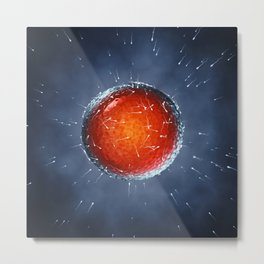 Fertilization Metal Print