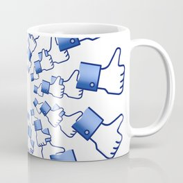 Thumbs up for Likes Coffee Mug