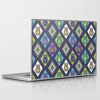 quilt Laptop & iPad Skins featuring Scarabs Quilt by Vannina