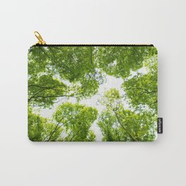 New green leaves Carry-All Pouch