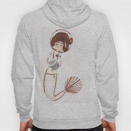 Astronaut Mermaid by Ashley Nada Hoody