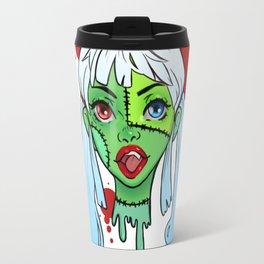 Drawlloween Zombie Travel Mug
