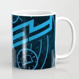 RHEY Blue Coffee Mug