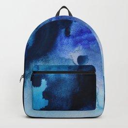 Indigo watercolor Backpack