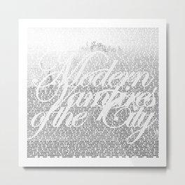 Modern Vampires of the City Metal Print