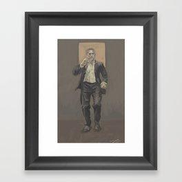 Reese Framed Art Print
