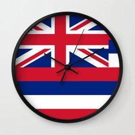 State flag of Hawaii Wall Clock