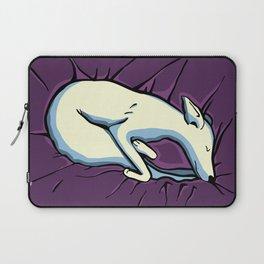 Sleeping Iggy Dog - Italian Greyhound - Whippet - Purple Laptop Sleeve