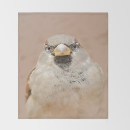 House Sparrow Throw Blanket