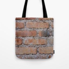 Aged Brick Wall rustic decor Tote Bag