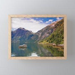 Grande Camping Framed Mini Art Print