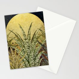 """Golden aloe Zebra midnight sun"" Stationery Cards"