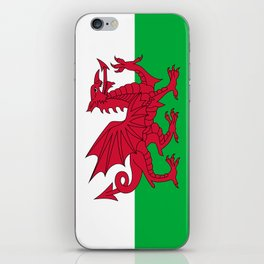 National flag of Wales - Authentic version iPhone Skin