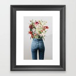 Bottomless Bouquet Framed Art Print