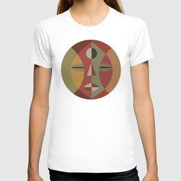 African Tribal Mask No. 11 T-shirt
